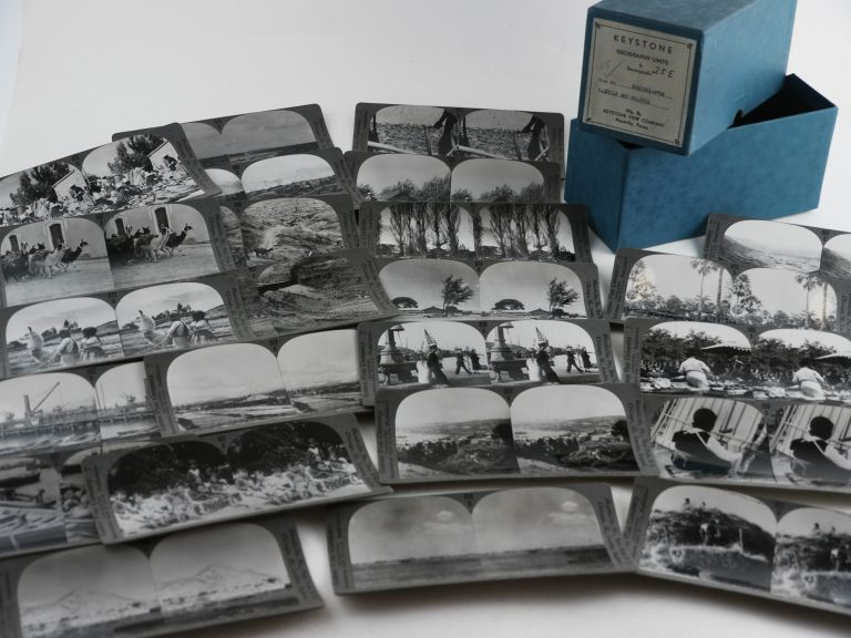 [Collection of Twenty-five Original Gelatin Silver Stereoviews Showing Local People, Villages, Farms and Industry in Bolivia and Chile]. SOUTH AMERICA - BOLIVIA, CHILE.