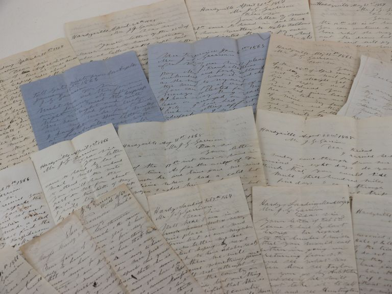 Historically Significant Archive of Twenty Autograph Letters, Nineteen Signed by William Hardy...