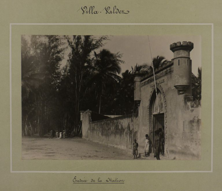 [Album with Sixty Original Gelatin Silver Photographs of Companhia do Boror's Concessions in the Zambezia Province of Mozambique, Showing Various Operations at the Coconut, Sugar Cane & Sisal Plantations, Sugar Factories, Processing Facilities, Warehouses, Trading Posts, Residential Buildings, etc.]. AFRICA - MOZAMBIQUE – COMPANHIA DO BOROR.