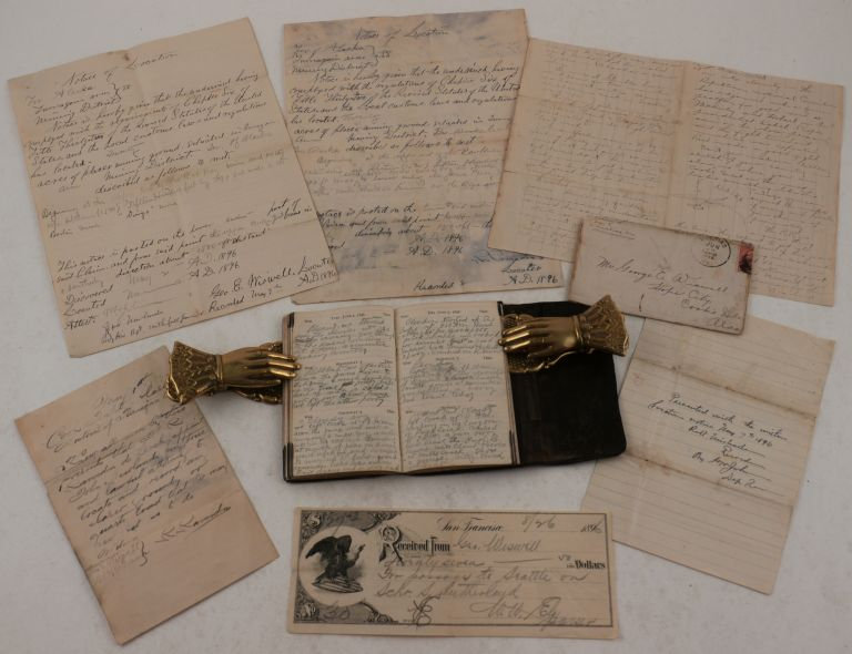 Historically Significant Private Archive Documenting the Experiences of a Gold Prospector during...