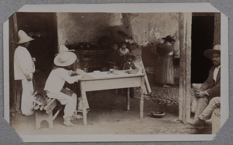 [Album with 45 Original Albumen and Gelatin Silver Studio Photographs of Mexico City, Titled:] Mexico – Summer of 1900. June 9 – Sept. 25th. CENTRAL AMERICA - MEXICO, William Henry JACKSON.
