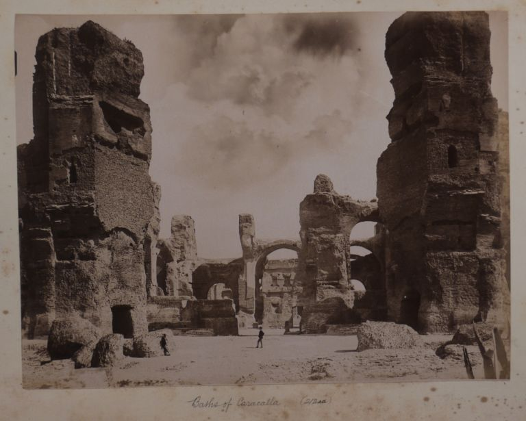 [Album with 65 Original Albumen and Gelatin Silver Studio Photographs of Italy, France, Germany, and Monaco]. EUROPE - ITALY.