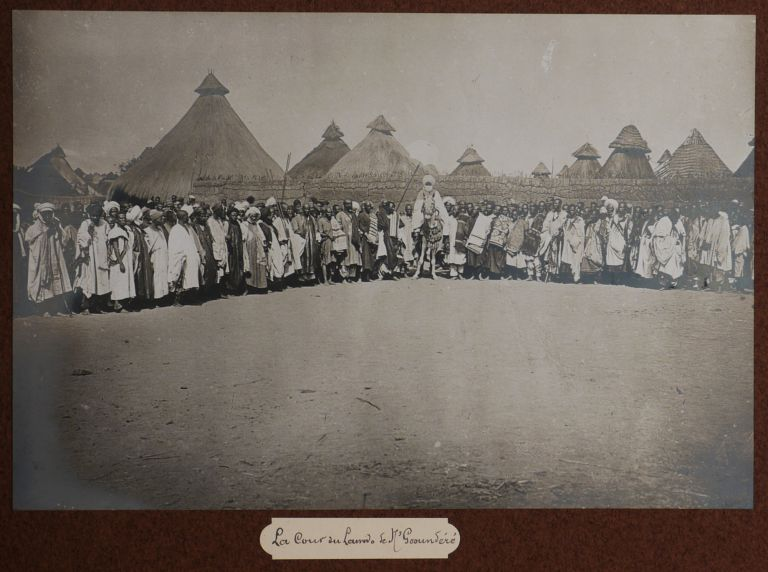 Album with 146 Original Gelatin Silver Photographs from the Mission to Delineate the. CONGO -...