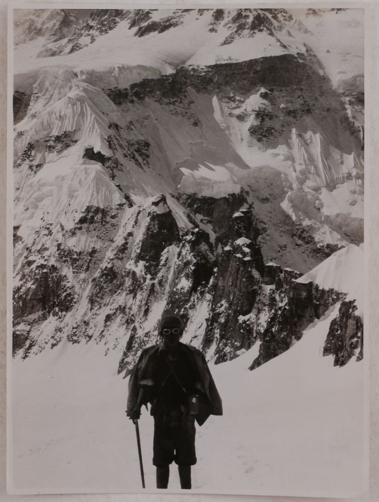 [Collection of Seventy-One Large Original Gelatin Silver Photographs Taken during the 1930 International Himalaya Expedition to Kangchenjunga]. ASIA - HIMALAYA - KANGCHENJUNGA, Herman HOERLIN, Erwin SCHNEIDER, Marcel KURZ, Uli WIELAND, Günter DYHRENFURTH.