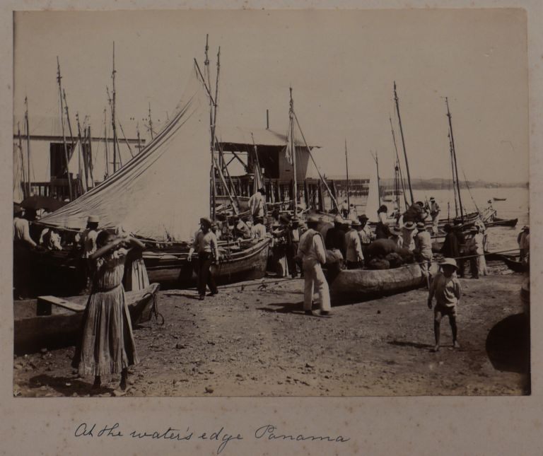 [Interesting Collection of Twenty Original Gelatin Silver Photographs of Panama and the Canal During its Construction around 1900 (including two photos of Nicaragua)]. CENTRAL AMERICA - PANAMA.