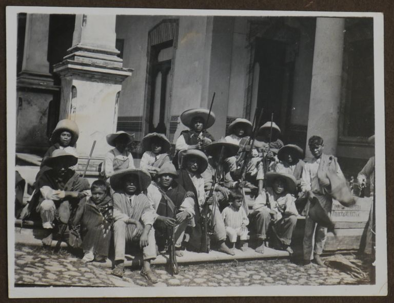 [Album with 199 Gelatin Silver Photographs Showing the Life of a Family of German Residents In Mexico During the Mexican Revolution]. CENTRAL AMERICA - MEXICO.