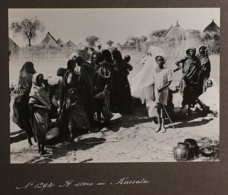 [Album of Thirty-One Original Gelatin Silver Photographs Showing Important Places and Indigenous People in Sudan with an Emphasis on Locations Along Sudan Government Railways]. MIDDLE EAST, ISLAMIC WORLD - SUDAN.