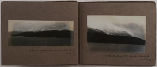 Album with Twenty-four Original Gelatin Silver Photos Documenting the 1919 Voyage of S.S. Boveric...