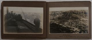 [Album with Twenty-four Original Gelatin Silver Photos Documenting the 1919 Voyage of S.S. Boveric Through the Strait of Magellan Starting in the South Atlantic and Ending in Iquique, Chile].