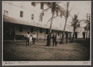 [Historically Important Album with 127 Original Gelatin Silver Photos Illustrating Life of American Residents during the First Years of the Panama Canal Zone, with Views of Empire, Sabanas, Ancon, Panama City, Cristobal, Lac Cruces, Chagres River, Camacho Reservoir, Fort San Lorenzo, Portraits of American Residents, Afro-Panamanians, etc.].