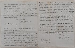 [Rare Original Expedition Letter Written and Signed by Henry Stanley in the Camp at Mikese, German East Africa (Modern-Day Tanzania) during the Last Phase of the Emin Pasha Relief Expedition].