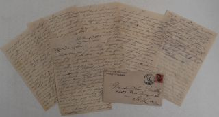 "Autograph Letter Signed ""Edwin"" from Sherzer to his Fiancé Clara Miller in St"