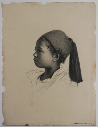 Collection of Nine Original Drawings by Wilhelm and Ismael Gentz, Leopold Mueller, and Charles...