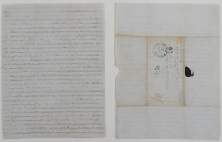 Autograph Letter Signed Mary Dickinson McCall to her renowned brother George McCall in the 4th...