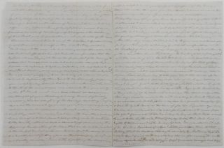 [Autograph Letter Signed Mary Dickinson McCall to her renowned brother George McCall in the 4th Infantry care of the quartermaster in New Orleans, Recounting his Recent Heroism.]
