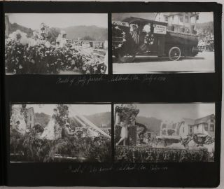 [Album of 435 Original Gelatin Silver Photographs and Three Real Photo Postcards Including Lively Urban Views from the Life of a Young Norwegian Immigrant Girl in Grants Pass, Oregon and Surroundings, During and After WW1].