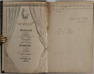 Collection of Several Original Logbooks of 1882-1886, Kept by a Young Midshipman on Board of...