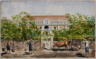 Album of Ten Original Watercolour Views of Saigon and Environs]. ASIA - VIETNAM - SAIGON,...