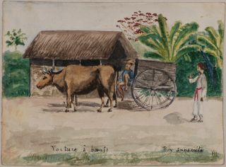 [Album of Ten Original Watercolour Views of Saigon and Environs].