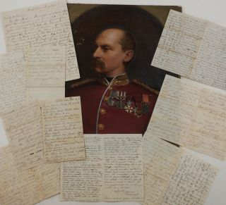 Collection of Seven Original Autograph Letters Signed, Written During the Siege of Sevastopol,...