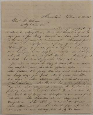 Two Early Hawaiian Autograph Letters (on one Bifolium) Signed to Dr. George Clymer, the Surgeon...