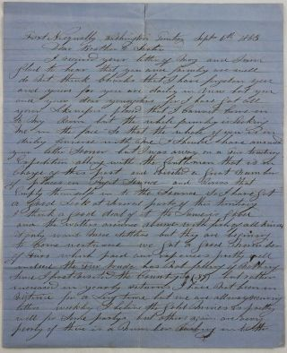 "Autograph Letter Signed to His Brother ""Charlie,"" Describing His Recent Fur Trade Expedition..."