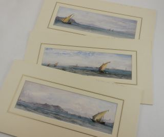 [Six Original Watercolour Views of Bombay Harbour and the Konkan Coast].