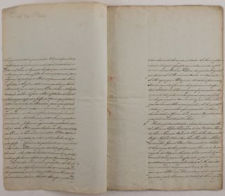 [Manuscript Report by a Notable Portuguese Diplomat, Reporting on Napoleon's 1800 Campaign in Italy, including the Battle of Marengo].