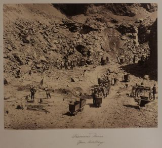 Album with Sixty-one Original Albumen Photographs, the Majority of Which are of South Africa...