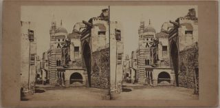 [Collection of Twenty Early Original Albumen Stereoview Photographs of Egypt, Showing Cairo, Ancient Egyptian Temples and Sites along the Nile and Suez Canal Under Construction].
