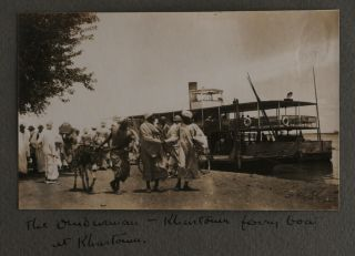 "Album with 56 Original Gelatin Silver Photographs Taken by a Passenger of the SS ""City of..."