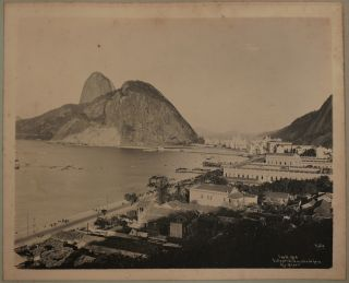 "Album with 40 Rare Large Original Gelatin Silver Photographs of ""Belle Époque"" Rio de..."