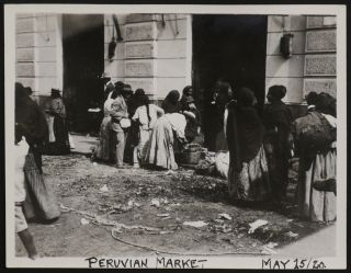 Album with 182 Original Gelatin Silver Photographs, Showing Lima, Peru, American Associates of a...