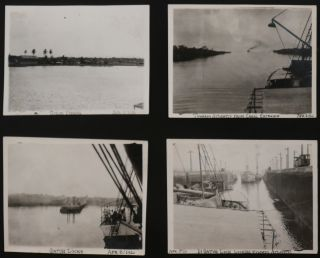 """[Album with 182 Original Gelatin Silver Photographs, Showing Lima, Peru, American Associates of a Lima Company, Possibly of the """"Grace & Co."""" Steamship Company, and the Panama Canal]."""