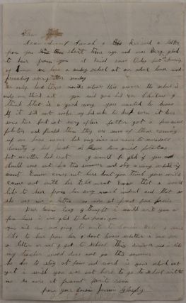 Autograph Letter Signed by an Iowa Farmer, Talking about the Women's Rights Movement in Iowa,...