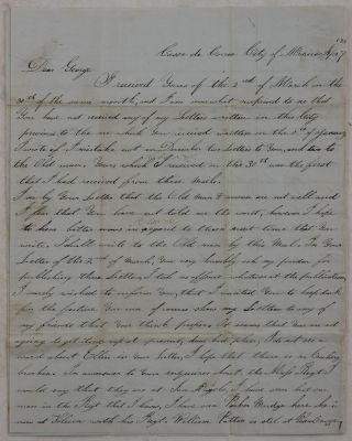 Autograph Letter Signed by Charles W. Foster, an 18-Year Old Serviceman of the Corps of...