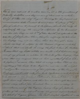 [Autograph Letter Signed by Charles W. Foster, an 18-Year Old Serviceman of the Corps of Engineers, Written in Mexico City in the Last Weeks of the Mexican-American War].