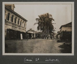Album with 96 Original Gelatin Silver Photographs of the British Gold Coast Colony, Showing the...