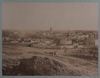 [Album with Fifty-Eight Early Original Albumen Photographs of French Algeria, Showing Algiers, Constantine, Bone, El Kantara, Katara Gorge, Roman Ruins in Timgad, Portraits of Native Algerians, Views of Smaller French Settlements and Country Houses, Algerian Villages etc.]