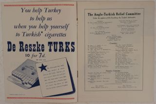 [Collection of Two Albums With 78 Original Gelatin Silver Prints, Over 120 Newspaper Clippings and Several Pieces of Printed Ephemera and Typewritten Documents, Illustrating the Activities of the Anglo-Turkish Relief Fund Which Aided the Victims of the 1939 Erzincan Earthquake].