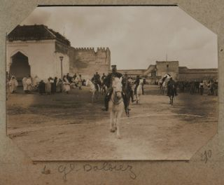 Collection of Two Albums with ca. 680 Original Gelatin Silver Photos Visually Documenting the...