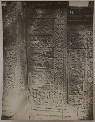[Collection of Twenty-Seven Loose Platinum and Albumen Photographs of Angkor Wat, Other Angkorian Temples and Khmer Sculptures, Taken by or Related to the Direction des Arts Cambodgiens Headed by George Groslier].