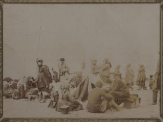 Album of Ninety-Six Original Gelatin Silver Photographs of Blagoveshchensk on the Amur River,...