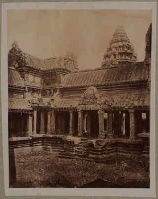 [Album with Sixty Photographs, including Fifty-five Albumen, Four Cyanotypes and One Platinum Print Compiled by a French Officer During His Service in French Indochina].