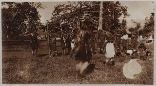 [Collection of 94 Loose Gelatin Silver Photographs, Documenting the Events of the Sokehs Rebellion on Ponhpei Island, with Several of the Photos Appearing in the Main Contemporary Accounts of the Rebellion; The Photos show Sokehs Island, German Naval Ships, Marines and Melanesian Policemen, Captured Rebels' Fortifications and Dwellings, Captured Rebels before their Execution, Ponape Cemetery, Colonial Residents, etc.]