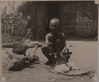 """[Collection of 67 Original Loose Gelatin Silver Photos, Including 34 Large Photos and 33 Stereo Views, Taken during Shortt's Work for the Kala-azar Commission of the Indian Medical Service in 1924-1933, and Showing """"Pasteur Institute, Kasauli,"""" """"my laboratory in Golaghat,"""" Barapani (Umiam) River """"ten miles north of Shillong,"""" a group with """"Sir Rickard Christophers, Assam, Kala-Azar Commission, Golaghat or Gauhati,"""" over Twenty Portraits of Assam Native People, Many with White Lines Marking Enlarged Spleens (a Symptom of Kala-Azar Disease), as well as Views of Assam Jungle, Portraits of Shortt, His Wife and Children during their Life in India, and Dr. Thomas Nelson Annandale near the Barkuda Island, Chilika Lake]."""