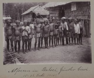Album of Eighty Gelatin Silver Photographs, Including Thirty-Two of Sulawesi, Twenty-Three of...