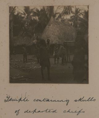 [Album with 151 Original Gelatin Silver and Albumen Photos, Including Eighty-Five Views of Java, Ambon, Sulawesi & Banda, Twenty-Eight Views of New Guinea, Thirty-Five Views of Samoa, Tonga, and Fiji, and Three Photos of the 1903 Delhi Durbar].