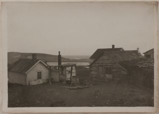 [Historically Important Collection of 110 Original Gelatin Silver Photographs of the Pribilof Islands, Showing St. Paul Village and Orthodox Church, American Sealers, the Fur Seal Industry, and Native People].