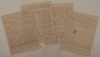 Original File Copy of the Autograph Letter Signed by James Wilson, Superintendent of the Alaska...